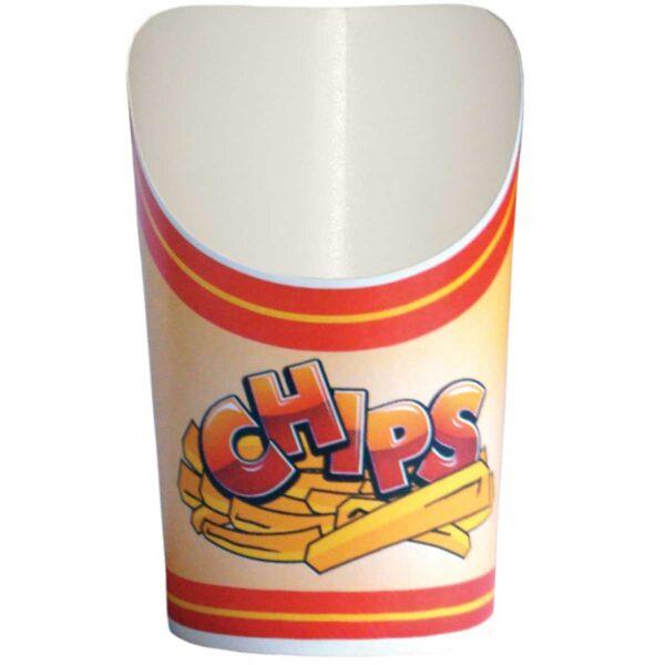 כוסות Scoopy סקופי הדפס צ׳יפס - B4 - קרטון 1000 כוסות