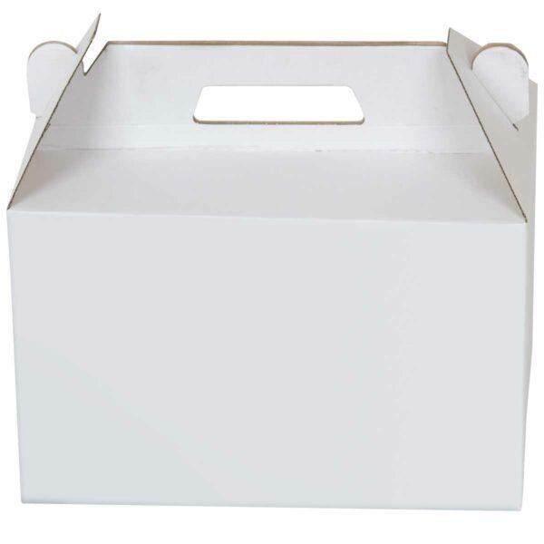 לאנץ בוקס - מזוודת קרטון לבן 337X215X215 מ״מ
