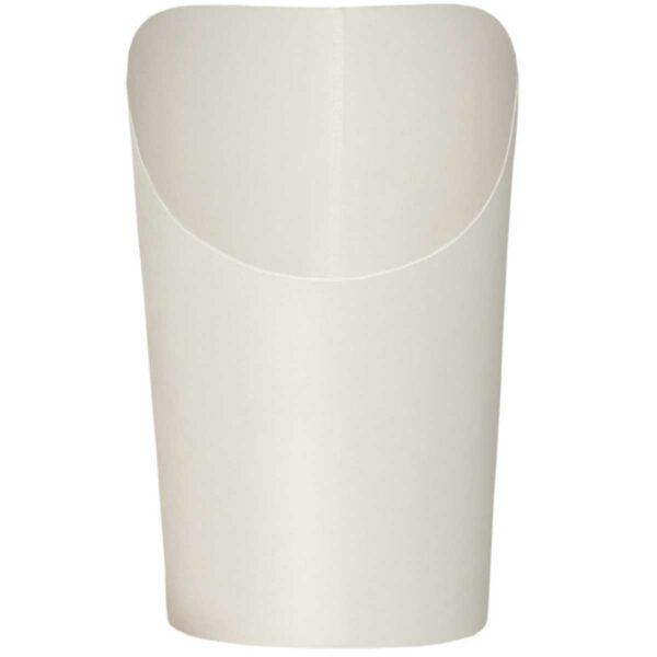 כוסות Scoopy סקופי לבן חלק - B4 - קרטון 1000 כוסות