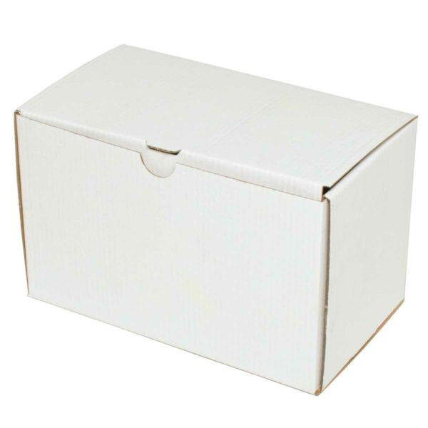 קופסאות קרטון לבן ממבלט 190X110X120 מ״מ