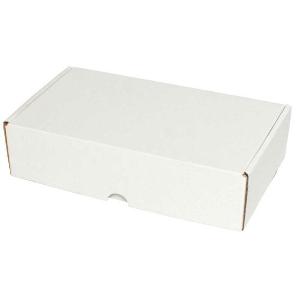 קופסאות קרטון לבן ממבלט 262X152X65 מ״מ