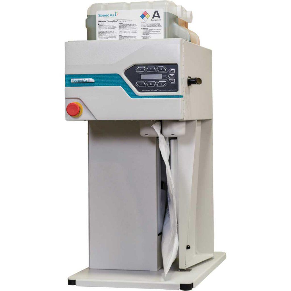 מכונה לייצור כריות אריזה Instapak Simple