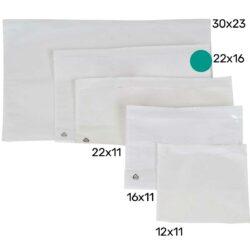 מעטפות פקינג ליסט Packing List חלק 22X16 ס״מ - 1000 מעטפות