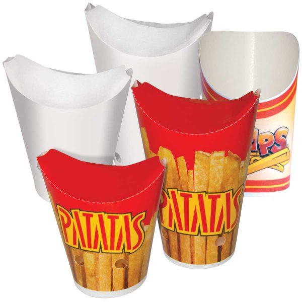 כוסות נייר לצ'יפס