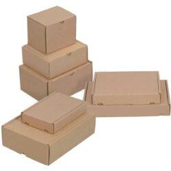 קופסאות קרטון חום ממבלט