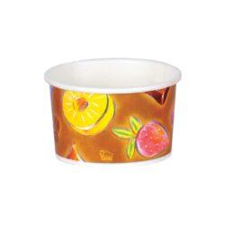 כוסות גלידה 125 מ״ל סדרת פירות
