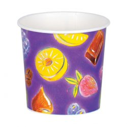 כוסות גלידה 350 מ״ל סדרת פירות