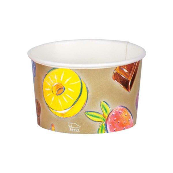 כוסות גלידה 170 מ״ל סדרת פירות