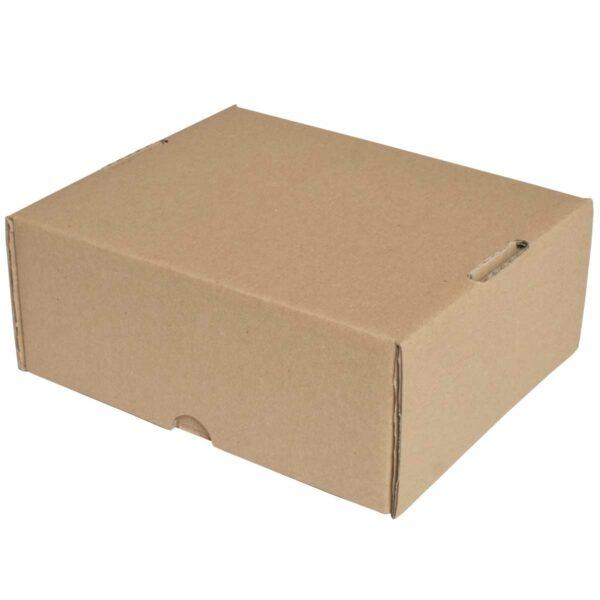 קופסאות קרטון חום ממבלט 215X185X90 מ״מ
