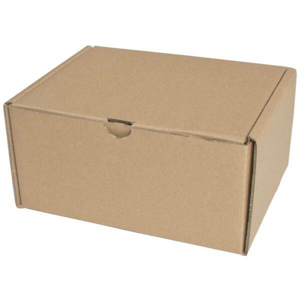 קופסאות קרטון חום ממבלט 240X185X120 מ״מ