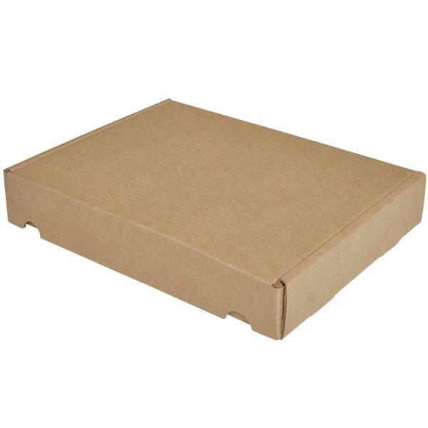 קופסאות קרטון חום ממבלט 305X240X50 מ״מ