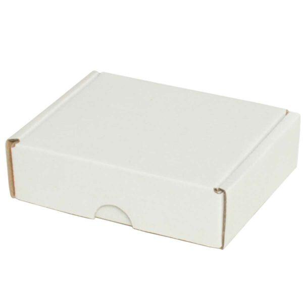 קופסאות קרטון לבן ממבלט 110X90X33 מ״מ