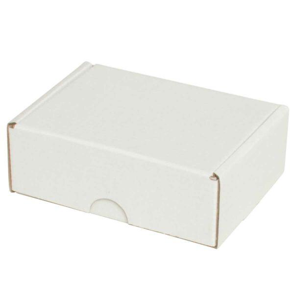 קופסאות קרטון לבן ממבלט 122X92X44 מ״מ