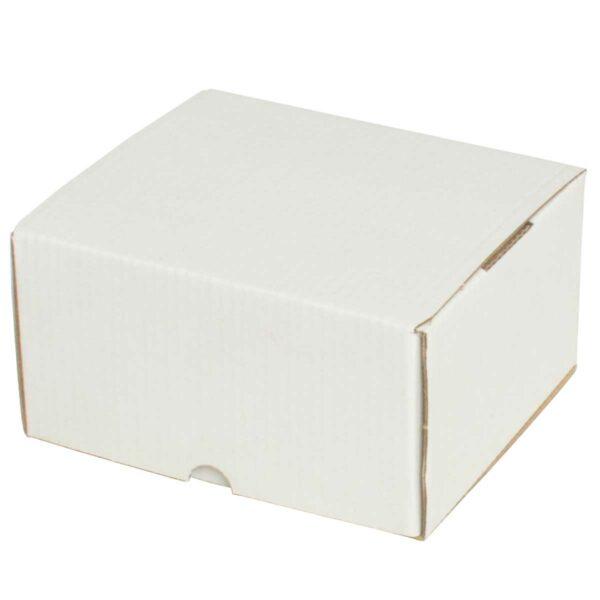 קופסאות קרטון לבן ממבלט 120X110X65 מ״מ