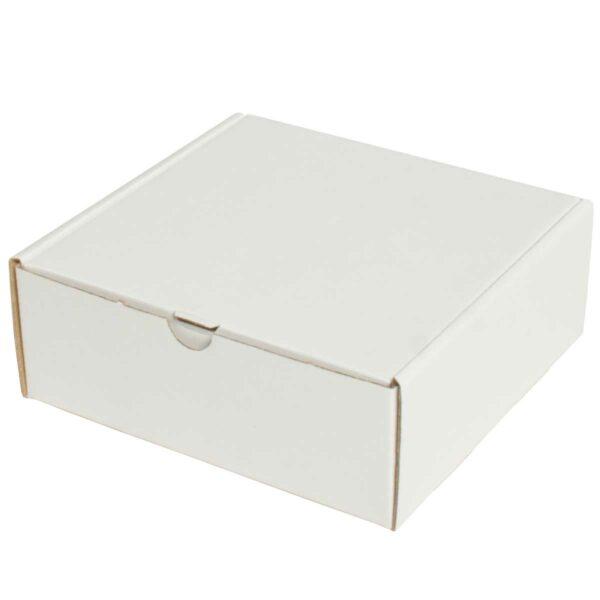 קופסאות קרטון לבן ממבלט 165X160X65 מ״מ