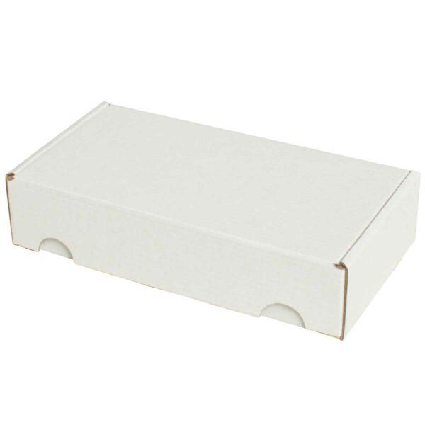 קופסאות קרטון לבן ממבלט 200X105X45 מ״מ