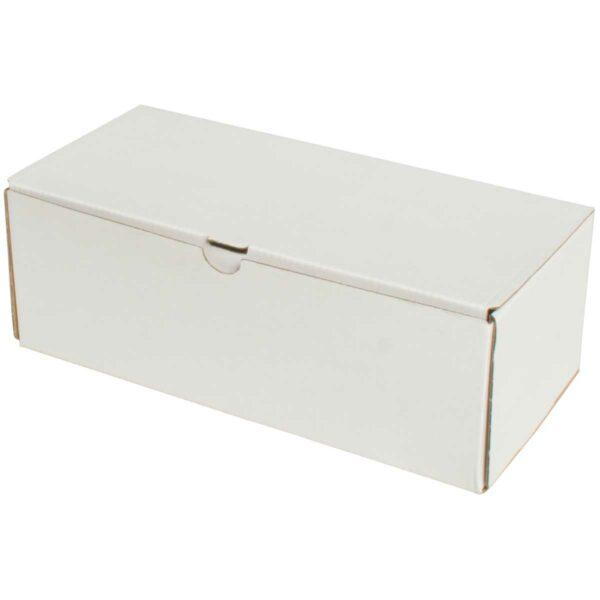 קופסאות קרטון לבן ממבלט 240X115X85 מ״מ