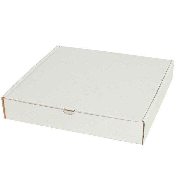 קופסאות קרטון לבן ממבלט 240X240X40 מ״מ
