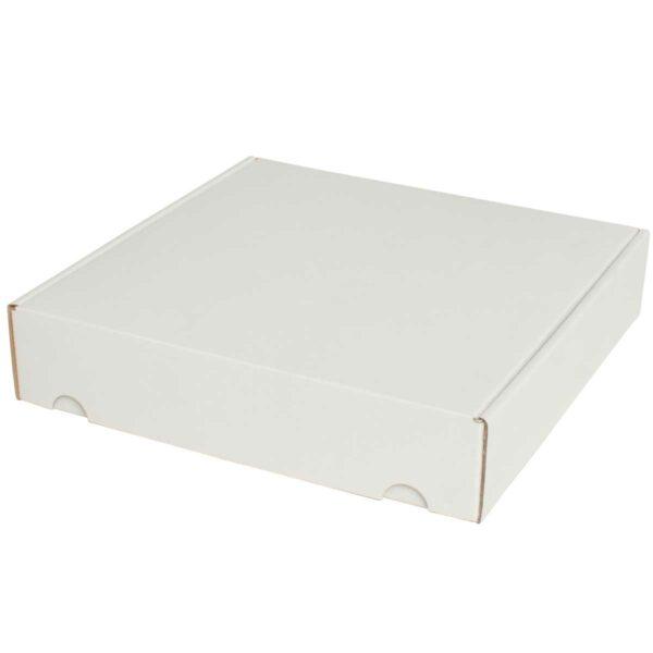 קופסאות קרטון לבן ממבלט 270X270X58 מ״מ