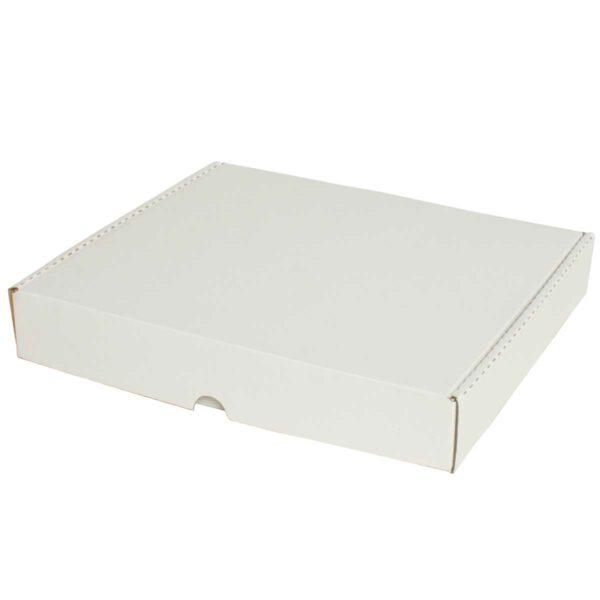 קופסאות קרטון לבן ממבלט 310X270X50 מ״מ