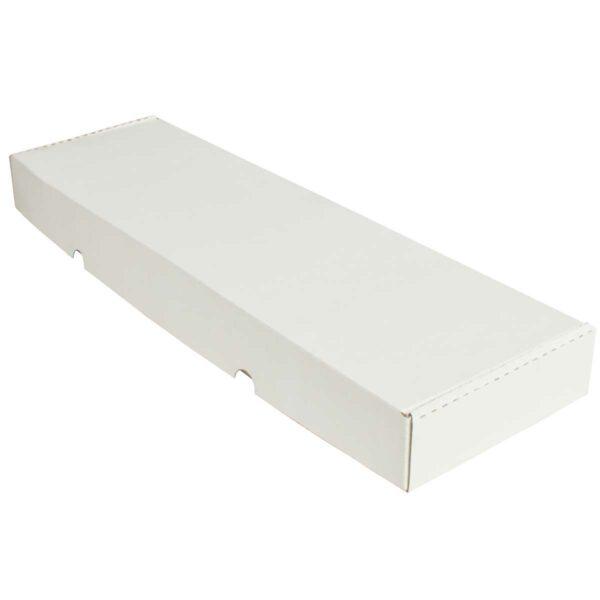 קופסאות קרטון לבן ממבלט 570X165X55 מ״מ