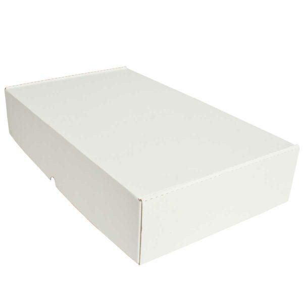 קופסאות קרטון לבן ממבלט 520X310X105 מ״מ