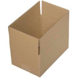 קופסאות קרטון חד גלי 250X160X130 מ״מ