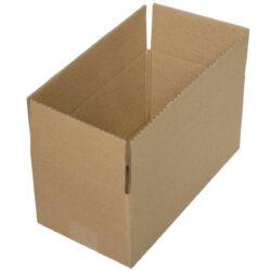 קופסאות קרטון חד גלי 300X160X125 מ״מ
