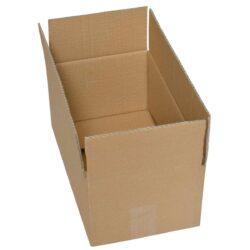 קופסאות קרטון חד גלי 350X200X150 מ״מ