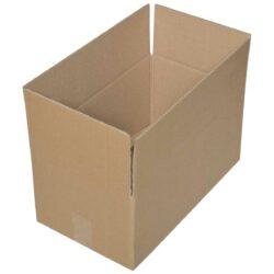 קופסאות קרטון חד גלי 410X240X190 מ״מ