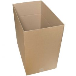 קופסאות קרטון חד גלי 585X358X420 מ״מ
