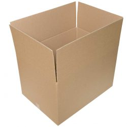קופסאות קרטון חד גלי 600X430X380 מ״מ