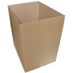 קופסאות קרטון חד גלי 680X520X520 מ״מ