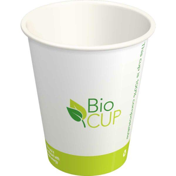 כוסות מתכלות BioCUP - קרטון 1000 כוסות