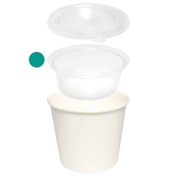 קערות למארז Combi Cup - קרטון 500 קערות