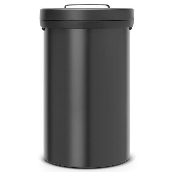 פח 60 ליטר BIG BIN שחור מט Brabantia - פחים מוסדיים