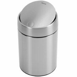 פח אשפה סלייד 5 ליטר מט FPP ללא סימני ידיים Brabantia לשירותים במשרד
