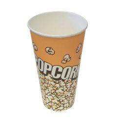 כוסות פופקורן 630 מ״ל F1 - קרטון 1000 כוסות