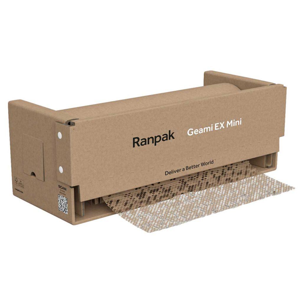 דיספנסר לאריזה בנייר קראפט Ranpak Geami WrapPak Ex-Mini Die-Cut
